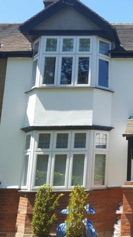 Exterior painted Essex home