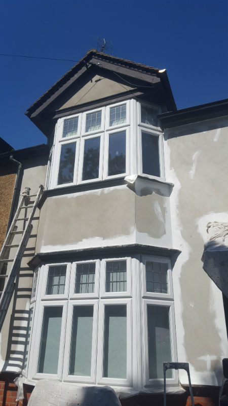 Exterior painted home in Essex 6