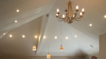 High ceiling deocorated in Essex