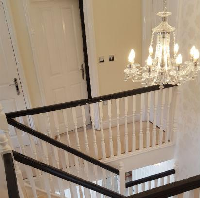 Balustrade and banister decorated Colchester