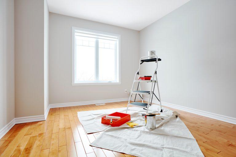 Painting Colchester home